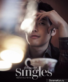 Kim Jae Won для Singles February 2013