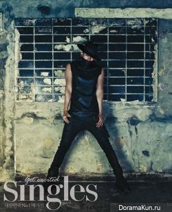 Kim Jae Wook, Taecyeon (2PM) для Singles August 2013