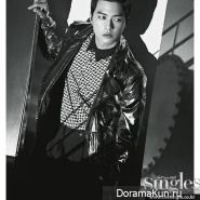Kim Ji Hoon для Singles April 2013