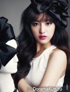 Kim Ji Won для CeCi December 2013
