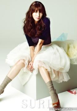 Kim Jung Hwa для Sure December 2012