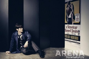 Kim Kang Woo для ARENA HOMME PLUS March 2013