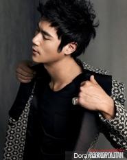 Kim Kang Woo для Cosmopolitan Korea 2012