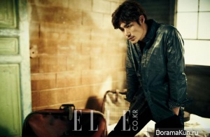 Kim Bum, Kim Kang Woo для Elle March 2013 Extra 2
