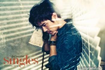 Kim Kang Woo для Singles March 2013 Extra