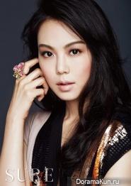 Kim Min Hee для SURE July 2014