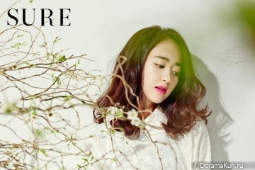 Kim Min Jung для SURE March 2014
