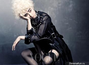 Kim Min Jung для Vogue December 2012