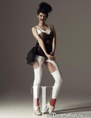 Kim Na Young для W Korea May 2013