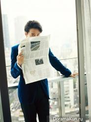 Kim Nam Gil для Harper's Bazaar Korea September 2013