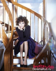 Kim Nam Joo для InStyle November 2012