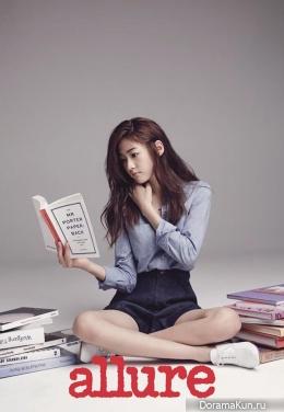 Kim Sae Ron для Allure Korea July 2014