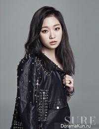 Go Kyung Pyo, Kim Seul Gi для SURE March 2013