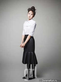 Kim So Hyun для Elle Girl January 2013