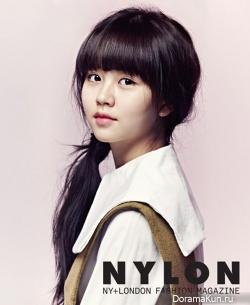 Kim So Hyun для Nylon January 2013