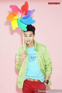 Lee Hyun Woo, Kim So Hyun, & Park Seo Joon для UNIONBAY 2014