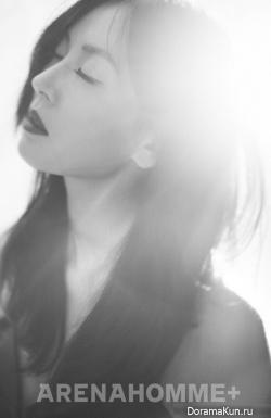 Kim So Yeon для Arena Homme Plus 2012
