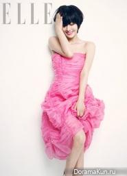Kim So Yeon для Elle Korea August 2013