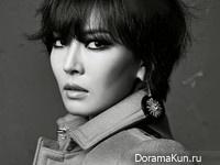 Kim So Yeon для Grazia November 2013 Extra