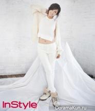 Kim So Yeon для InStyle November 2012