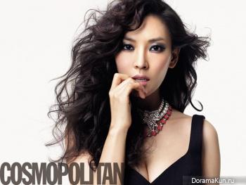Kim So Yun для Cosmopolitan Korea 2012