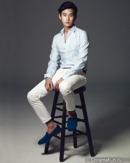 Kim Soo Hyun для Harper's Bazaar Man March 2013