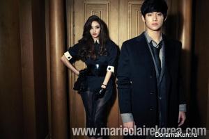 Han Chae Young, Kim Soo Hyun для Marie Claire Korea 2011