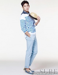 Kim Soo Hyun для SURE April 2013