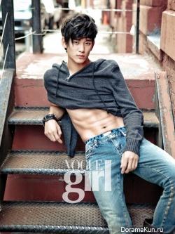 Kim Soo Hyun для Vogue Girl 2010