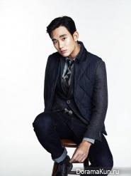 Kim Soo Hyun для ZIOZIA F/W 2013 Ads