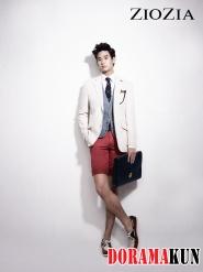 Kim Soo Hyun для ZIOZIA Model 2012 Extra