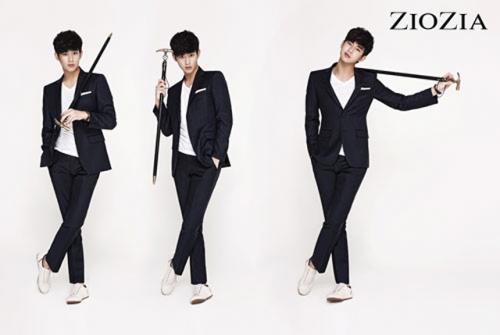 Kim Soo Hyun для ZIOZIA's Zizzling Model 2012