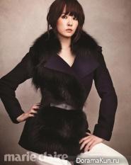 Kim Sun Ah для Marie Claire October 2012