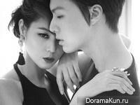 Kim Sung Ryung для Instyle Korea October 2013