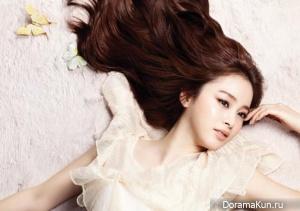 Kim Tae Hee для Marie Claire January 2013
