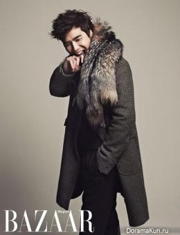 Kim Tae Hoon для Harper's Bazaar January 2013