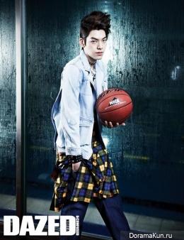 Kim Woo Bin для Dazed & Confused February 2013