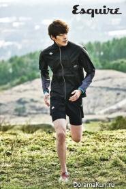 Kim Woo Bin для Esquire March 2013