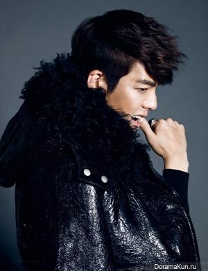 Kim Woo Bin для Harper's Bazaar November 2013 Extra