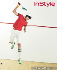 Kim Woo Bin для InStyle June 2013