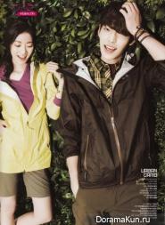Kim Woo Bin для L'Officiel Hommes April 2013