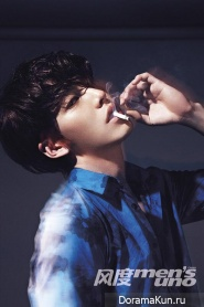 Kim Woo Bin для Men's Uno Magazine May 2014