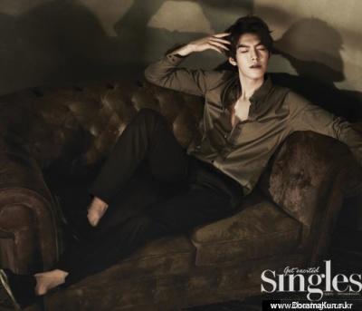 Kim Woo Bin для Singles March 2013 Extra