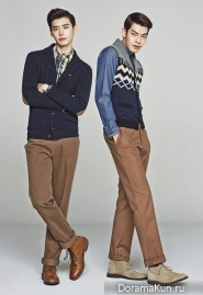 Lee Jong Seok, Kim Woo Bin для Trugen F/W 2013 Ads
