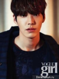 Kim Woo Bin для Vogue Girl Korea January 2014