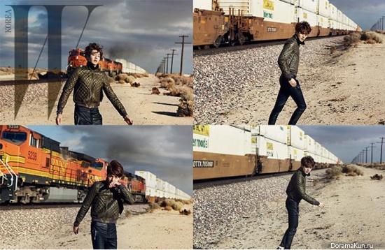 Kim Woo Bin для W Magazine March 2014