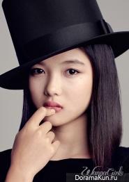 Kim Yoo Jung для Wanna Girls 2012