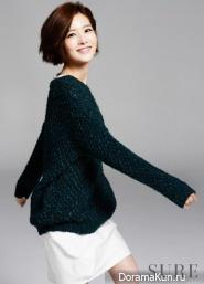 Kim Yoo Ri для SURE November 2013