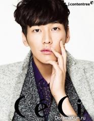 Sung Joon, Kim Young Kwang для CeCi November 2012