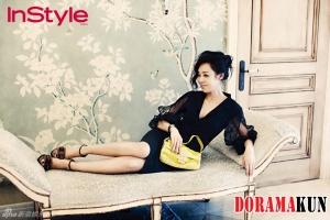 Kim Yun Jin для InStyle Magazine August 2012